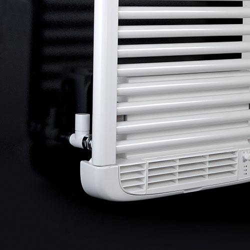 radiateur seche serviettes dryer deltacalor tubes droits. Black Bedroom Furniture Sets. Home Design Ideas