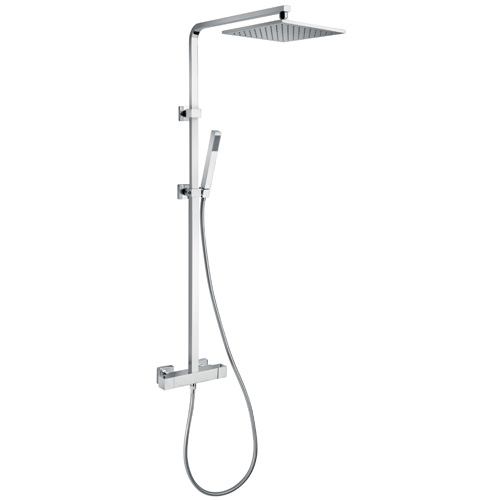 colonne de douche thermostatique kubick