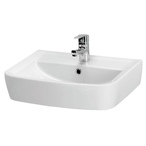 lavabo a poser sur colonne 60 x 46 x 15 cm 710616. Black Bedroom Furniture Sets. Home Design Ideas
