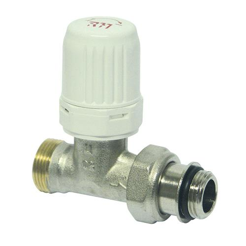robinet droit thermostatisable rh pour tube cuivre ou per 7234 15. Black Bedroom Furniture Sets. Home Design Ideas