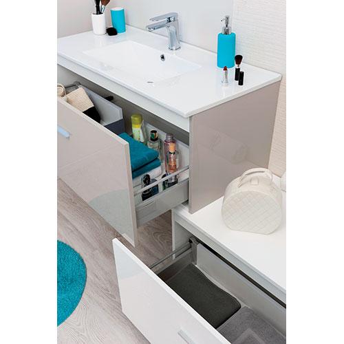 bloc meuble bas sans vasque 90 cm sydney 800234. Black Bedroom Furniture Sets. Home Design Ideas