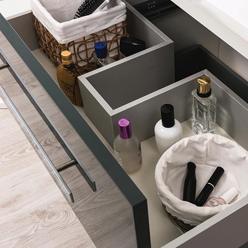 meuble a suspendre palmea 120cm blanc 804309. Black Bedroom Furniture Sets. Home Design Ideas