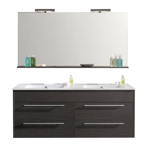 meuble a suspendre grey duba 120cm 950503. Black Bedroom Furniture Sets. Home Design Ideas
