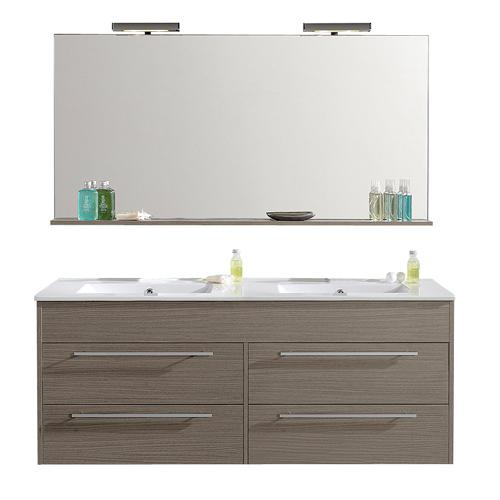 meuble a suspendre ceruse duba 120cm 950508. Black Bedroom Furniture Sets. Home Design Ideas
