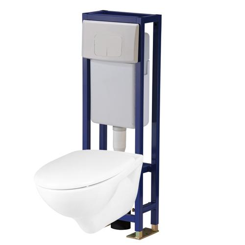 Pack wc suspendu autoportant p7860 10 - Pack toilette suspendu ...