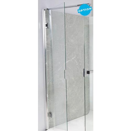 Porte pivotante pour douche a la francaise elmer elmerpivo - Porte a la francaise ...