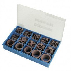COFFRET PLASTIQUE DE JOINTS FIBRE ASSORTIS