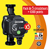 PACK PRO 5 CIRCULATEURS AUTOMATIQUE ENERJ FLUID